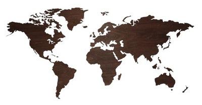 Карта мира 3d instagram стену чердак Дизайн