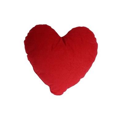 Serce Serca Poduszka dekoracyjna czerwone i białe