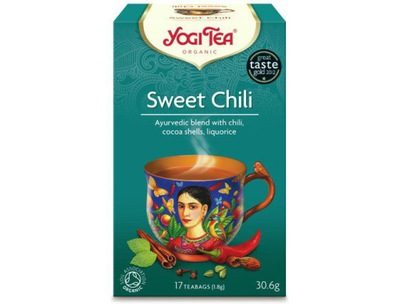чай сладкое CHILI био SWEET 17 х 1 ,8g YOGI TEA
