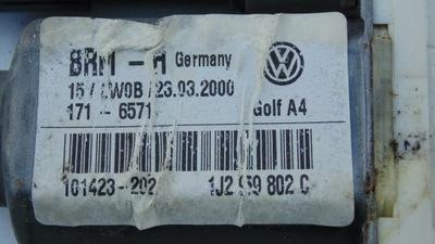 SILNICZEK OPUSZCZANIA SZYBY PRAWY VW GOLF IV BORA