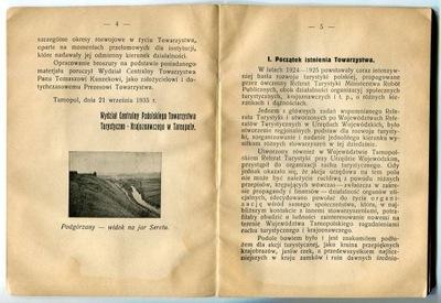 KRESY : PODOLE : TURYSTYKA : SCHRONISKA  1935 rok