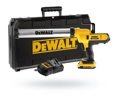 DeWalt DCE580D1 Zbraň pre masy silikónové, 310-600 ml
