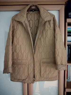Pikowana miodowa kobieca kurtka wiosna TCM L / XL