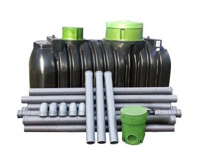 Dukomorowa odpadových vôd, životného prostredia 2000l 4os.