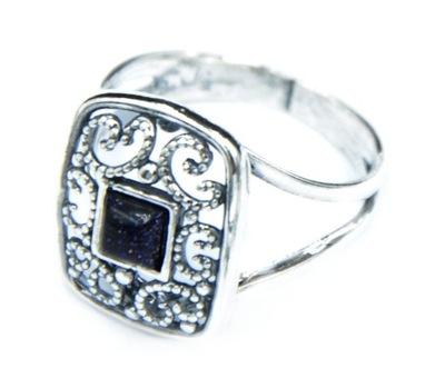 5d7fd7046b2081 pierścionek srebro 925 noc Kairu oplot 21 - 7617661225 - oficjalne ...