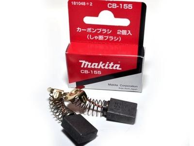 Drôtená kefa, kotúč - Uhlíkové kefy Makita CB155 HM1202C ORIGINAL!