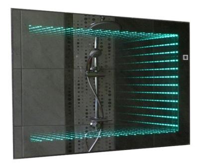 зеркало ванной LED 3D Глубина пульт 65x60