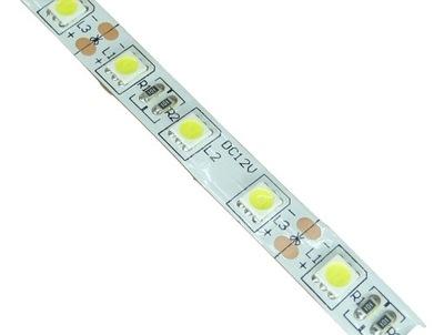 5050 лента 300 LED 1 М , Белый теплый холодный EPISTAR