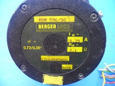 SILNIK KROKOWY BERGER LAHR RDM 596/50  F.VAT