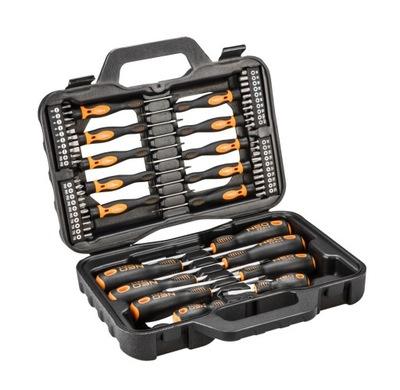 Neo Tools комплект ОТВЕРТОК И НАСАДОК 58szt.04-211