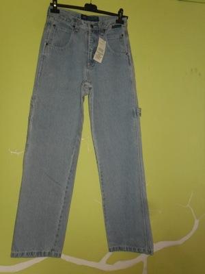 WYPRZEDAŻ spodnie męskie jeans roz. 27 S/M