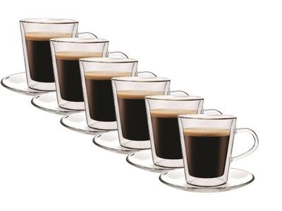 Pohár tepelnej kávy Lungo 6 Ks