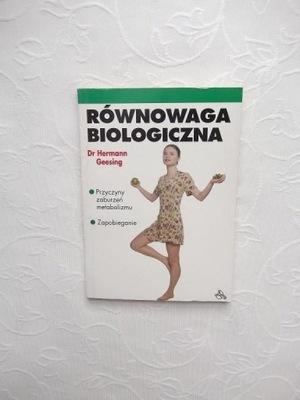 RÓWNOWAGA BIOLOGICZNA /DIETA FIGURA RUCH ŚWIATŁO