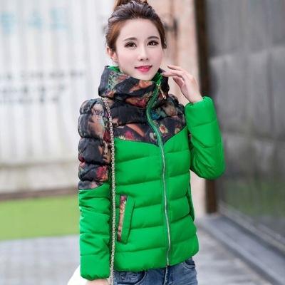 długa kurtka zimowa pudrówa tył krótszy