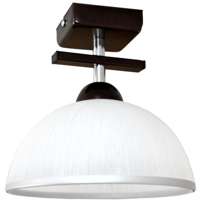 Svietidlá - Závesné svietidlá - Lampa wisząca / sufitowa ETNA 1 wenge - 3 klosze