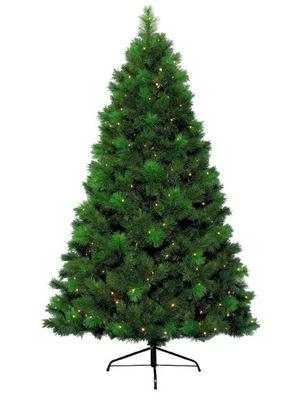Vianočný stromček - STROM BOROVICE, 300 LED 180 CM PE 12 ROKOV GW