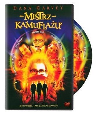 *Film DVD - MISTRZ KAMUFLAŻU -