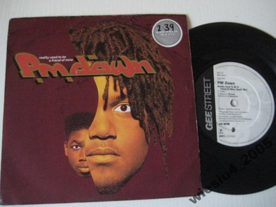 P.M.Dawn - Reality  Used To Be A Friend...SP /UK/