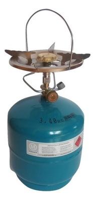 Plynový Sporák Turistické Veľký Valec Propán 3 kg