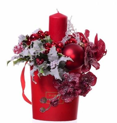 Headdress červené kvety, Kvet políčko pre trstina