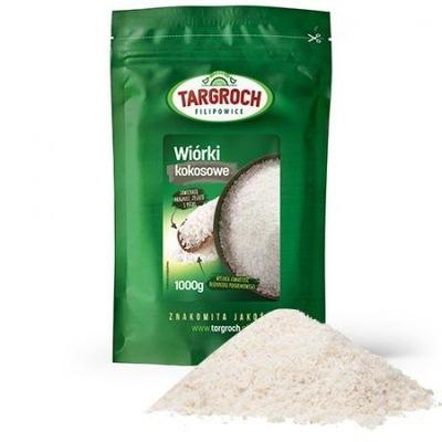 СТРУЖКА Кокосовое натуральные 1 кг TARGROCH