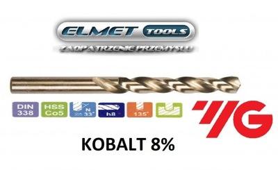 Wiertło FI 1,8 HSSCo8 KOBALT 8% DIN338 YG-1