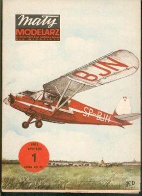 MM 1/1983 Samolot turystyczny RWD-13