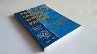 Frąckiewicz Polityka społeczna wobec reform [spis]