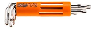 TLAČIDLÁ TORX T10-T50 8 PCS NEO 09-524