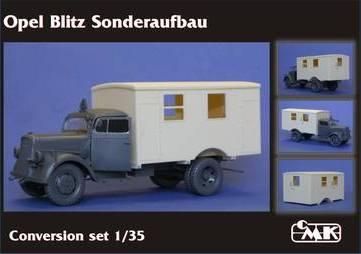 Opel Blitz Sonderaufbau - CMK 1/35