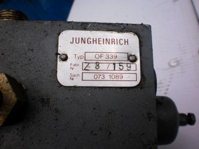 rozdzielacz hydrauliczny jungheinrich reczny