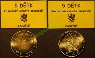 5 DETK - Kaszubska moneta szczęścia - OKAZJA !
