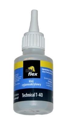 50 gram KLEJ UNIFLEX T40 SEKUNDOWY CYJANOAKRYLOWY