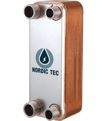 """Výmenník tepla NORDIC Tec 30kW 24-platňový 1 """""""