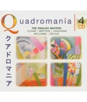 QUADROMANIA: The English Masters - Handley, Elgar,