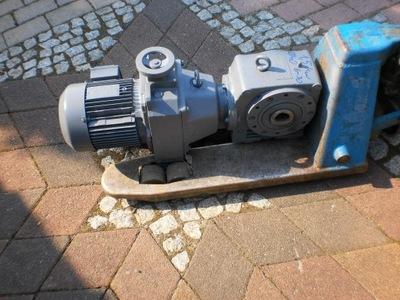 motoreduktor regulowany regulacja 6 do 30 1,5 kw