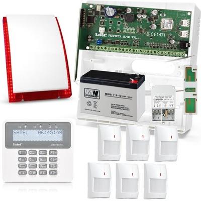 Bezdrôtová SÚPRAVA Perfecta 16-WRL 6 MPD GSM