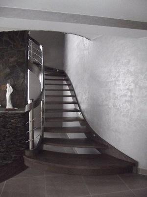 schody gięte dębowe cała Polska