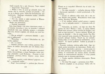 Sprawa rozwodowa Ryszarda Montholon 1938 rzadkość