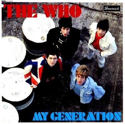 THE WHO -  MY GENERATION / MONO 180 GRAM HQ WINYL/