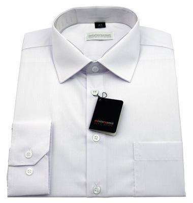 Koszula męska MISTERSZMIT biała 43 188 7783524746  03tyo