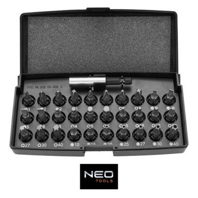 Сменные НАКОНЕЧНИКИ Держатель биты 31 штук Neo 06-103