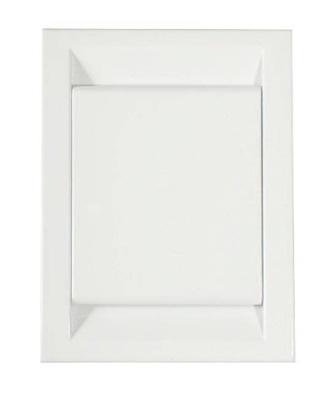 Konektor plastové DECO, biela