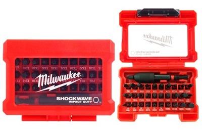 Bit nastavený pre skrutkovače Milwaukee SHOCKWAVE 32cz