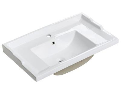 keramické Umývadlo 80 cm pravouhlé retro