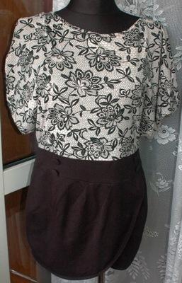 'ciekawa sukienka/tunika r 38/40  ,gratis korale