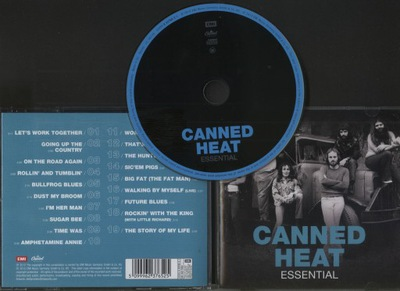 CANNED HEAT - ESSENTIAL - CD