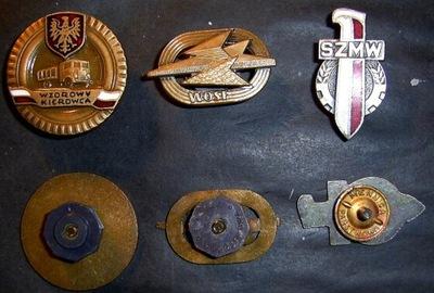 Значки SZMW + WOSF бронза + Образцовый Водитель бронза