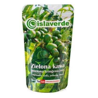 зеленый кофе Islaverde молотая kriogenicznie5x200g