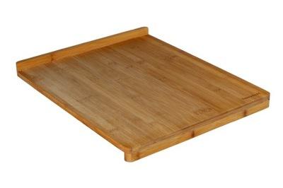 Doska, valček na valkanie cesta - Stolnica bambusowa 45x38x1,2cm [5744]
